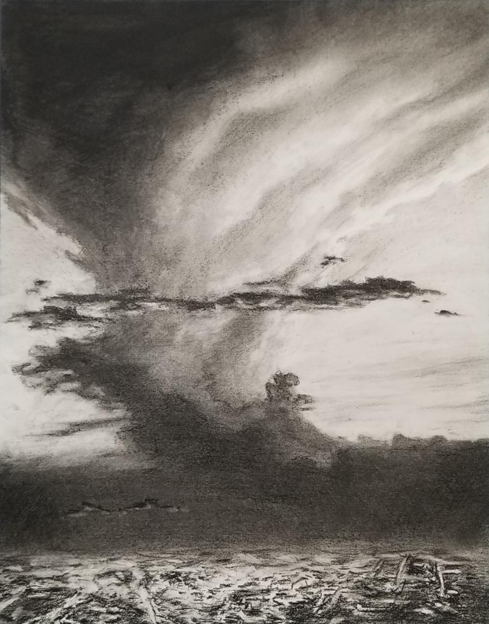 Storm over Houston